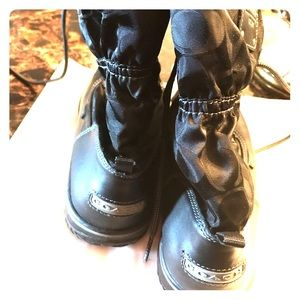 Coach Signature Snow Boots